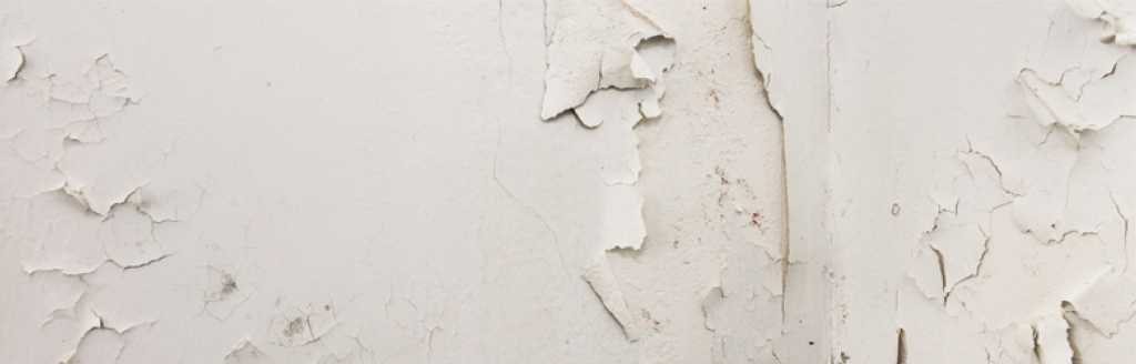 Dealing with damp in older properties - flaking paint
